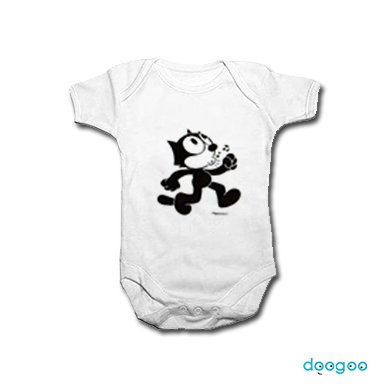 2a09d90b394 ... 16ss Tee 1 Side T Shirt White. Stay246 A Bathing Ape Beishingu Milo X  Felix The Cat. Baby Clothes Felix The Cat Doogoo. Felix The Cat Baby  Clothes Best ...
